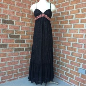 NWT Adrianna Papell floral maxi dress
